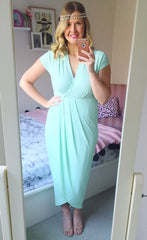 Juliet Mint Maxi Dress