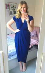 Juliet Navy Maxi Dress