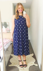 Leanne Polka Dot Dress