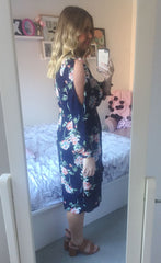 Legacy Navy Floral Dress