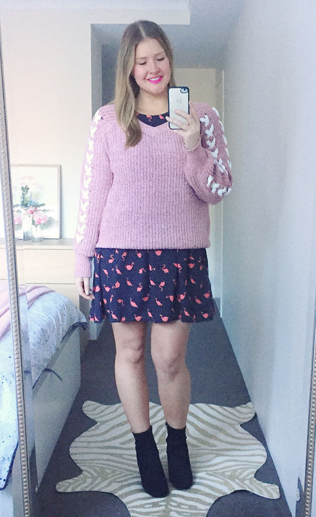 Love You Pink Knit