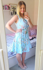 Lovers Lane Blue Blossom Dress