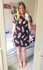 Maggie Pineapple Print Dress