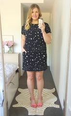 Maggie Star Print Dress