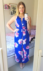 Marianne Blue Floral Dress