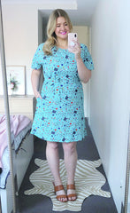 Megan Mint Teacher Dress