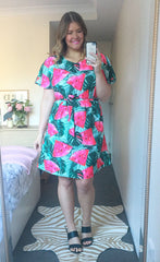 Megan Watermelon Print Dress