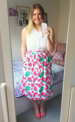 Natasha Watermelon Skirt