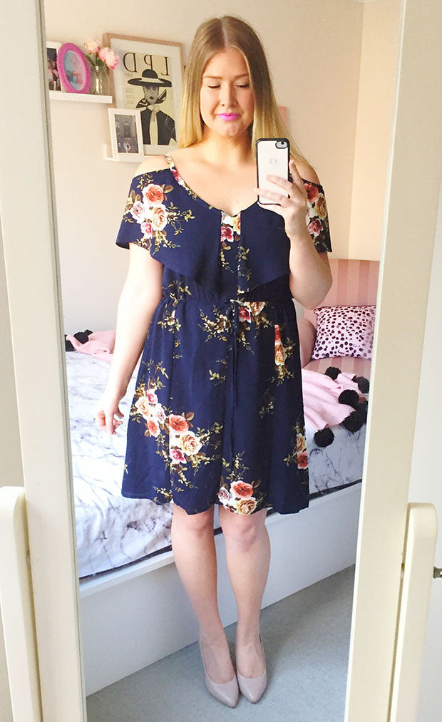 Nikita Navy Floral Dress