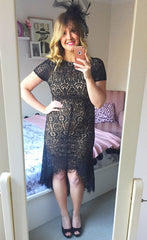 Olivia Black Lace Dress