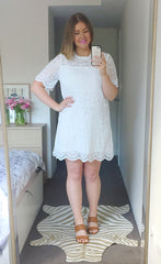 Paige White Lace Dress