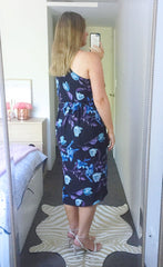 Pamela Black Floral Dress