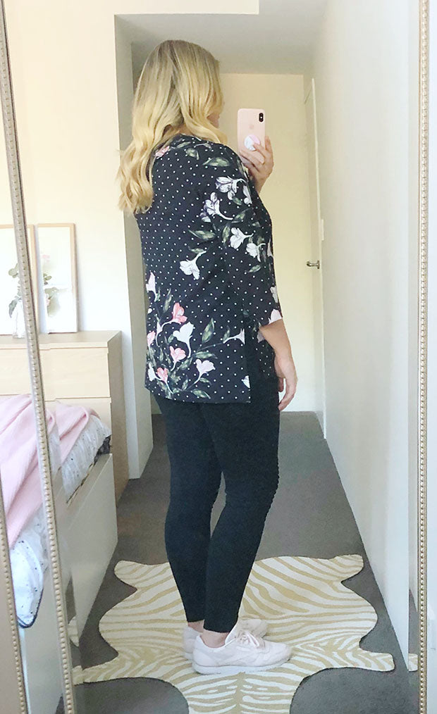 Patty Spotty Floral Top