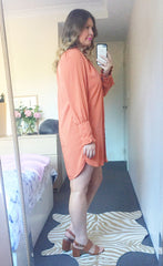 Penelope Orange Dress