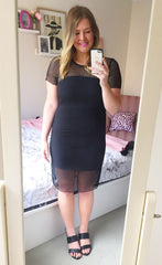Polished Black Dress