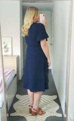 Queen Navy Dress