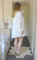 Rambling White Dress