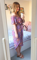 Rodeo Drive Aztec Print Dress