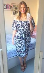 Rodeo Drive Animal Print Dress