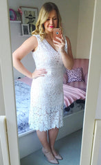 Romance White Lace Dress