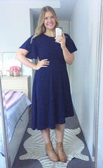 Ruby Navy Dress