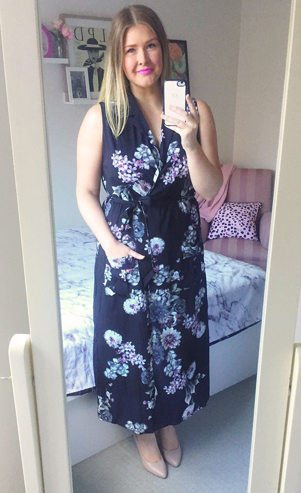 Scarlett Black Floral Dress