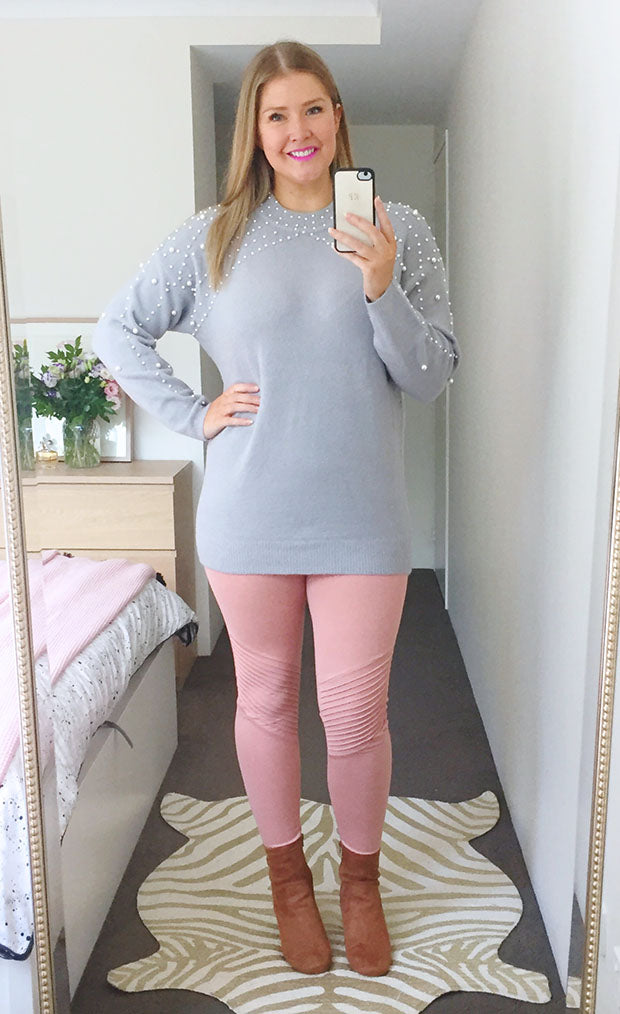 Bardot Blush Leggings