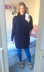 Stardust Navy Knit