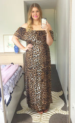 Sweet Life Leopard Print Dress