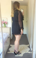 Tabitha Black Dress