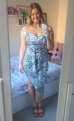 Taryn Animal Print Dress