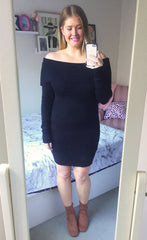 Underworld Black Knit Dress