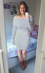 Underworld Grey Knit Dress