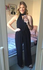 Vamp Black Jumpsuit