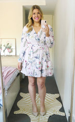 Verity Pink Floral Dress
