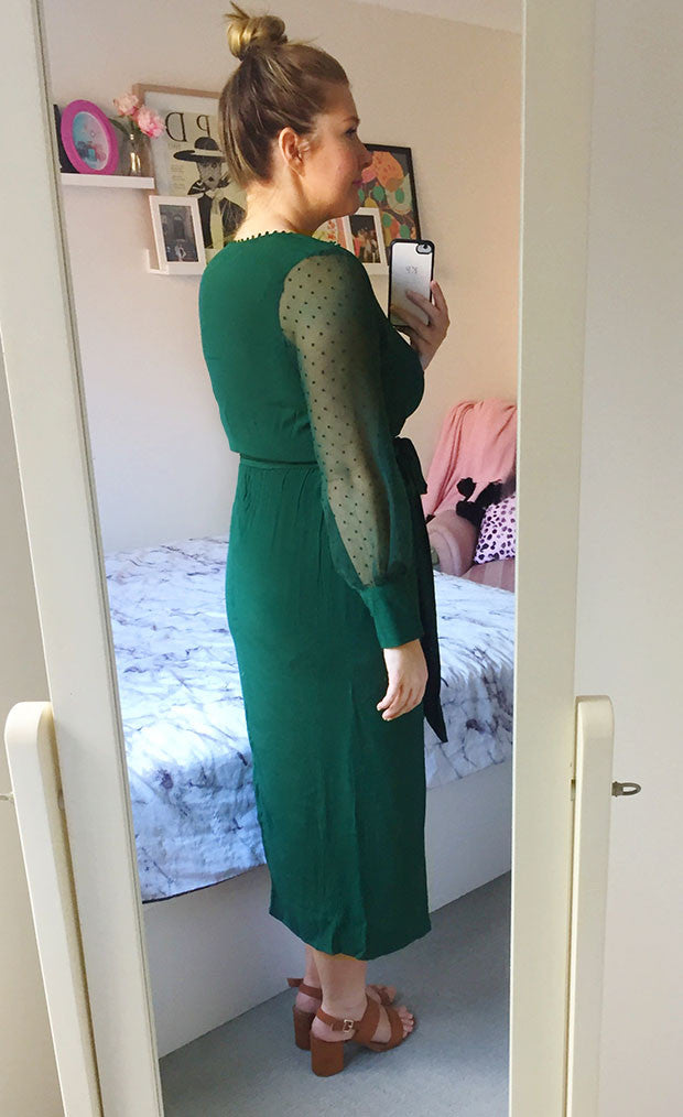 Whisper Green Dress