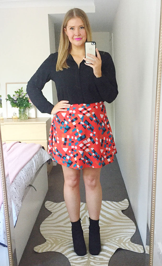 Carla Abstract Skirt