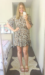 Ellie Leopard Print Dress