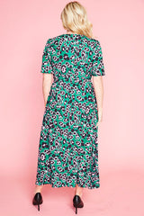 Marley Green Leopard Dress