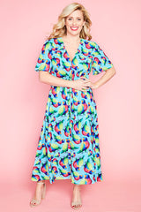 Marley Rainbow Lorikeet Dress