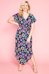 Arlo Retro Rainbow Dress