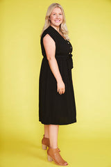 Georgie Black Dress