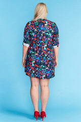 Chelsea Paparazzi Print Shirt Dress