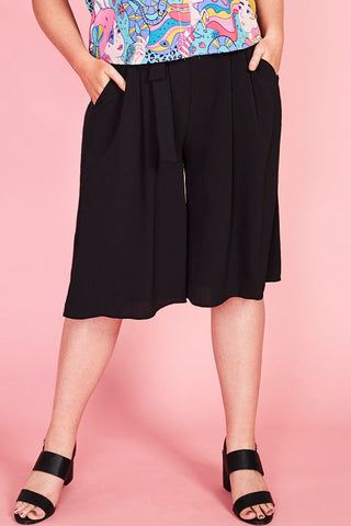 Tricks Black Culottes