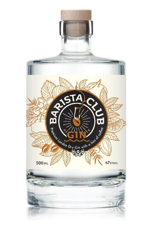 Barista Club London Dry Gin 0,5l-baristagin