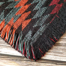 Load image into Gallery viewer, Fringe Bandana and Infinity Scarf Set - Aztec Sunset
