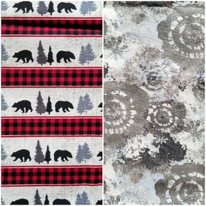 Bearfoot Explorers - Reversible Bandana