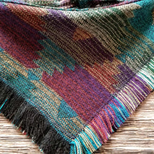 Load image into Gallery viewer, Aztec Diamond - Fringe Bandana