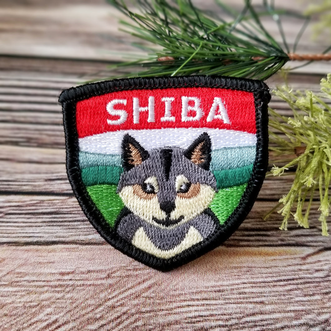 Shiba Inu - Embroidered Patch