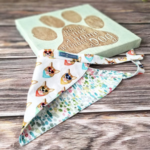 Hello Corgeous - Reversible Bandana